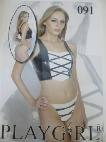 Corset and Thong (Playgirl 091) - PVC